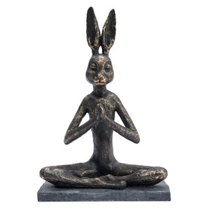 Yoga Bunny Praying Position.