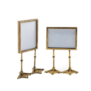 Gold Duck Feet Photo Frame landscape and portrait.