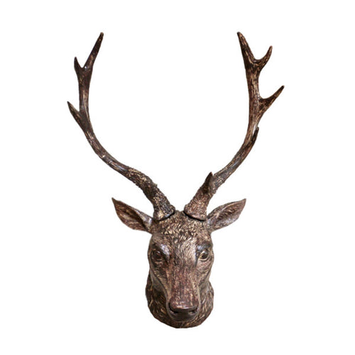 Stag Head Wall Bust.