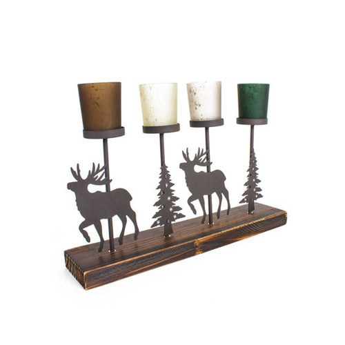 Reindeer Tealight Holder.
