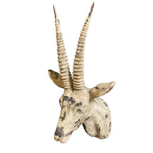 Antelope Head Wall Decor. Product image.