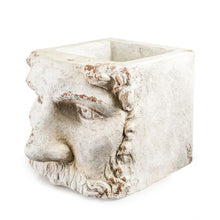 Load image into Gallery viewer, Large Stone Effect Classical Face Planter with no plant.