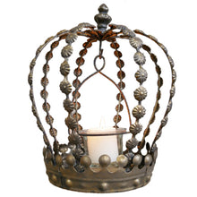 Load image into Gallery viewer, Crown Tea Light Holder.