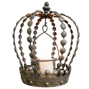 Crown Tea Light Holder.
