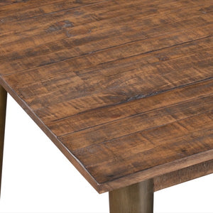 Savanna Gold Dining Table. Close up of table top.