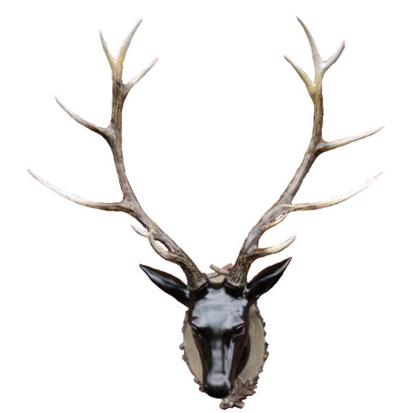 Large Stag Head Wall Bust.