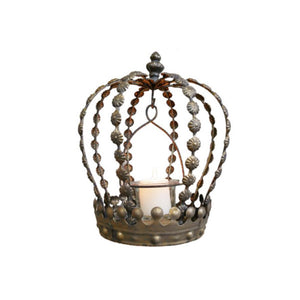 Crown Tea Light Holder. Product image.