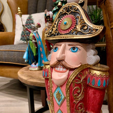 Load image into Gallery viewer, Large Nutcracker figure close up image.