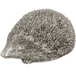 Silver Hedgehog Ornament