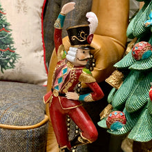 Load image into Gallery viewer, Dancing Nutcracker Figurine close up image.