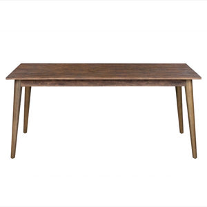 Savanna Gold Dining Table. Side view.