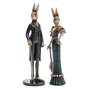 Mr & Mrs Rabbit