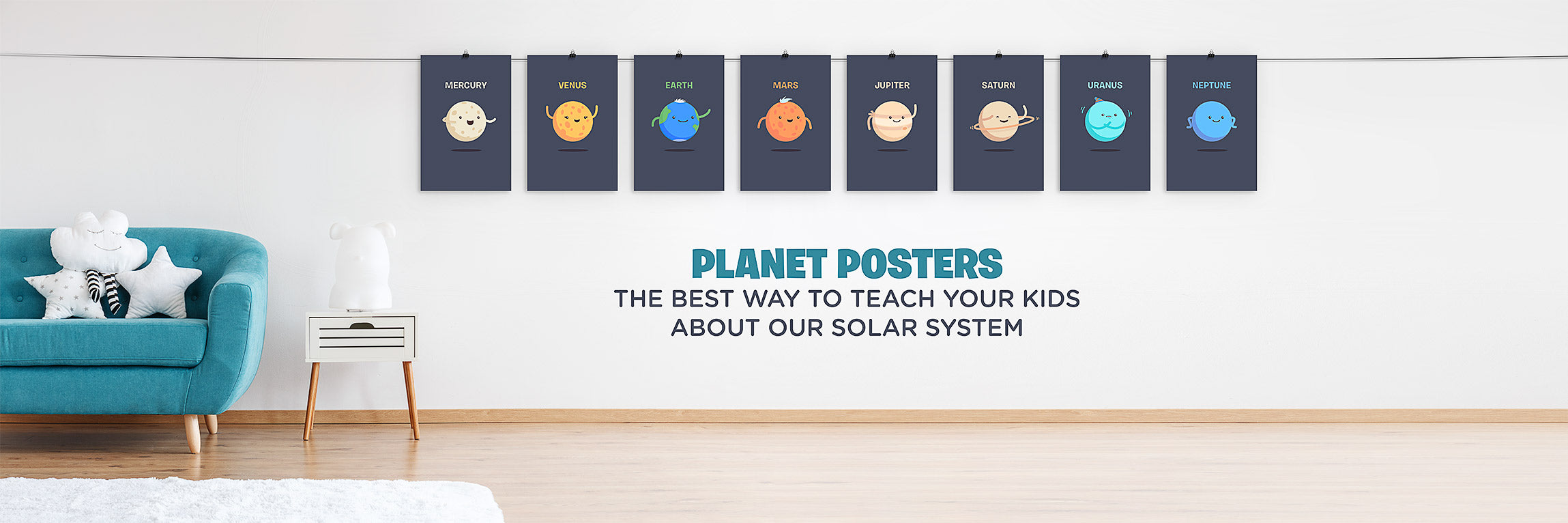 Planet Posters for Childrens bedroom