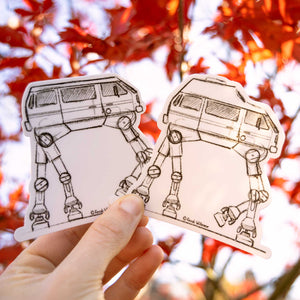 T3-T3 Walker, Vanagon and Westfalia High Top Stickers
