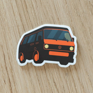 Retro Westfalia Vanagon T3 Sticker