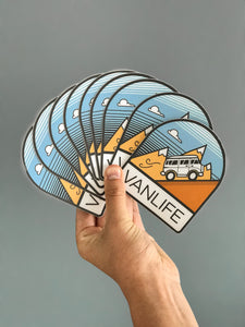Vanlife Stickers