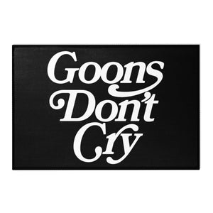Goons Don't Cry Area Rug