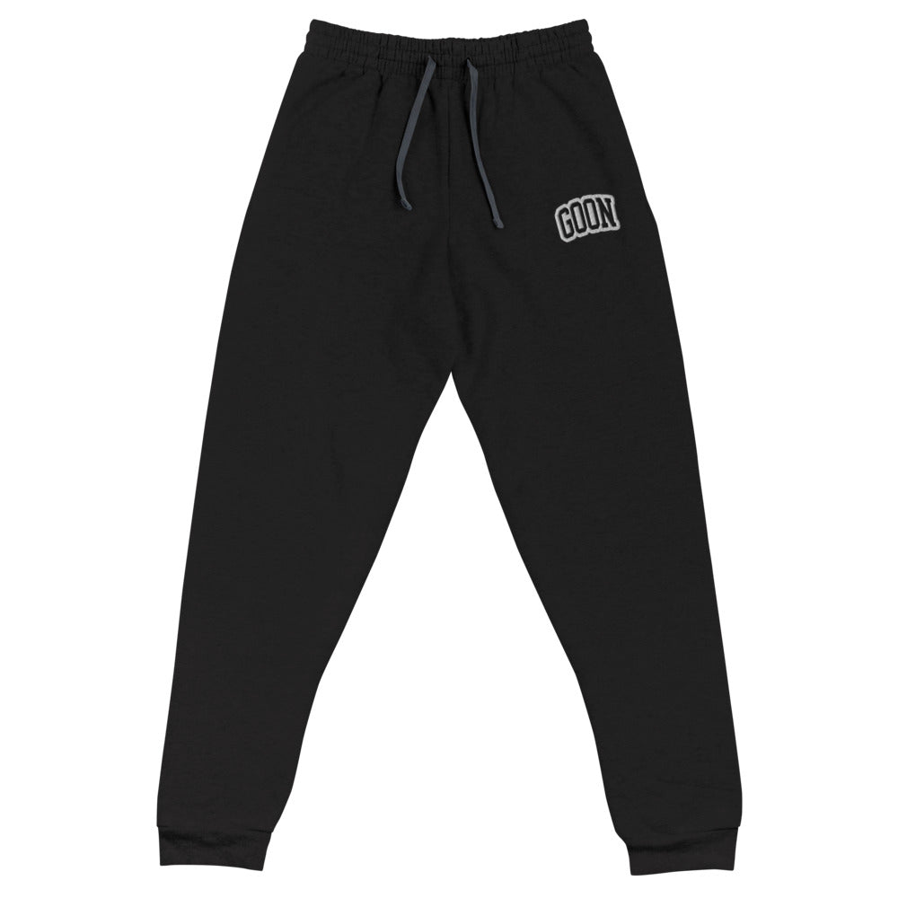 Goon Athletic Embroidered Joggers - LaGoon Goods