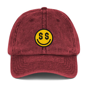 Goon Squad Smiley Vintage Dad Hat - LaGoon Goods