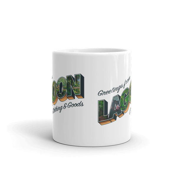 Postcard Greetings Mug - LaGoon Goods