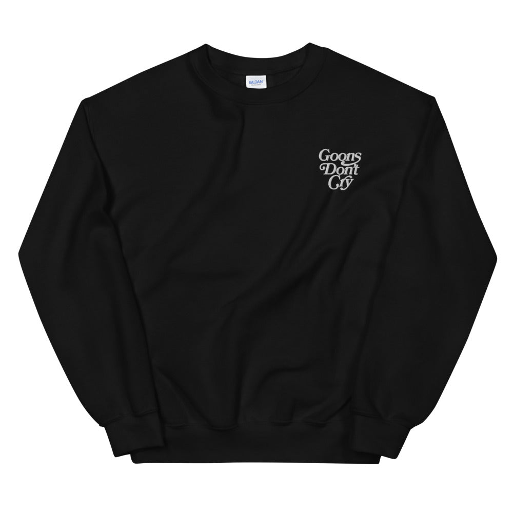 Goons Don't Cry Embroidered Pullover Sweater - LaGoon Goods