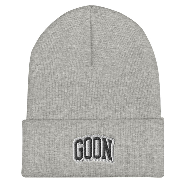 Athletic Goon Cuffed Beanie - LaGoon Goods