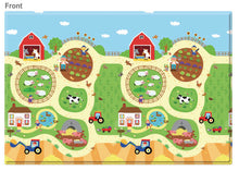 Load image into Gallery viewer, REGULAR Double Sided Play Mat – Busy Farm