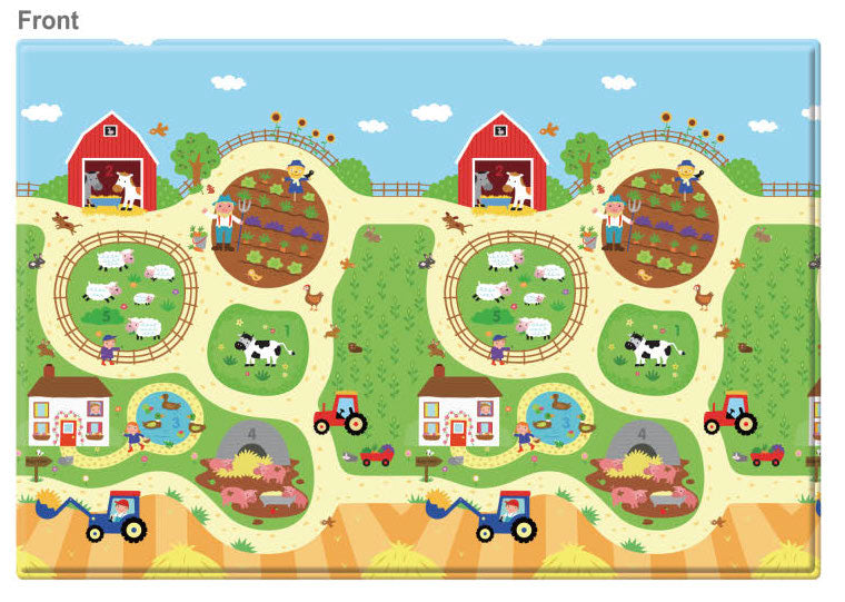 REGULAR Double Sided Play Mat – Busy Farm