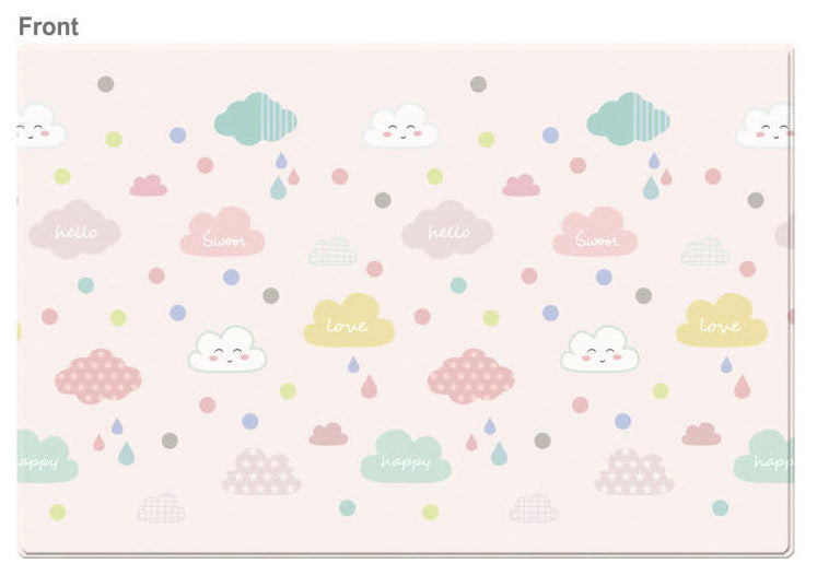 LARGE Double Sided Play Mat – Happy Cloud