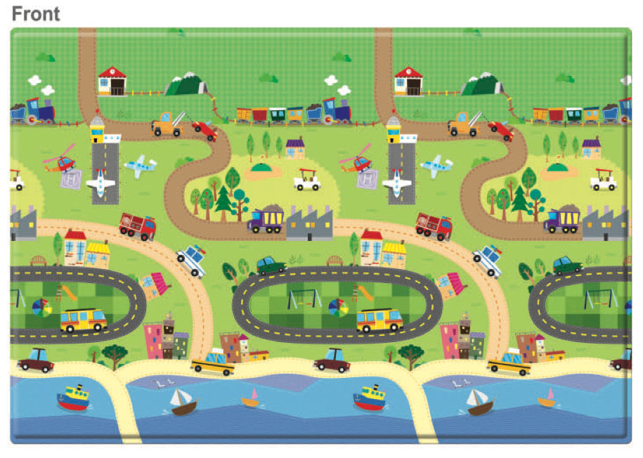 REGULAR Double Sided Play Mat – Happy Village