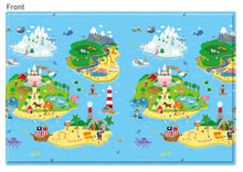 Load image into Gallery viewer, REGULAR Double Sided Play Mat – Magical Island