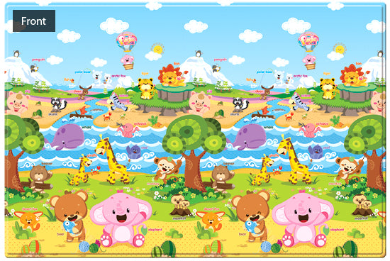 REGULAR Double Sided Play Mat – Pingko Friends