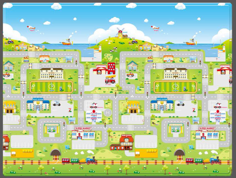 Bebedom Play Mat – Run to Town