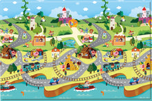 Load image into Gallery viewer, REGULAR Double Sided Play Mat – Story World