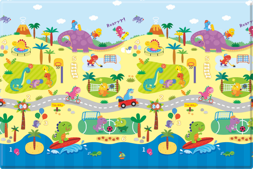 Comflor Prime Double Sided Play Mat – Dino Sports