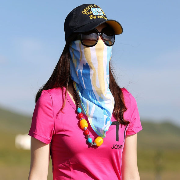 Buckaroo Summer Neck Gaiter & Face Cover - Lightweight UV Protection 200003624 Horse & Soul Western Wear
