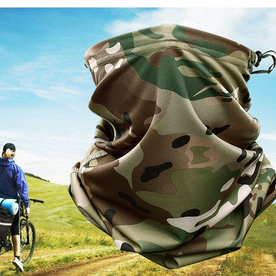 Camo Neck Gaiter Face Cover With Drawstring 200003624 Horse & Soul Western Wear