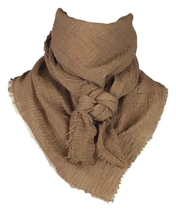 "Extra Large Cotton Wild Rag Buckaroo Western Scarf 43"" x 43"" Apparel Horse and Soul Western Wear Dark Gold"