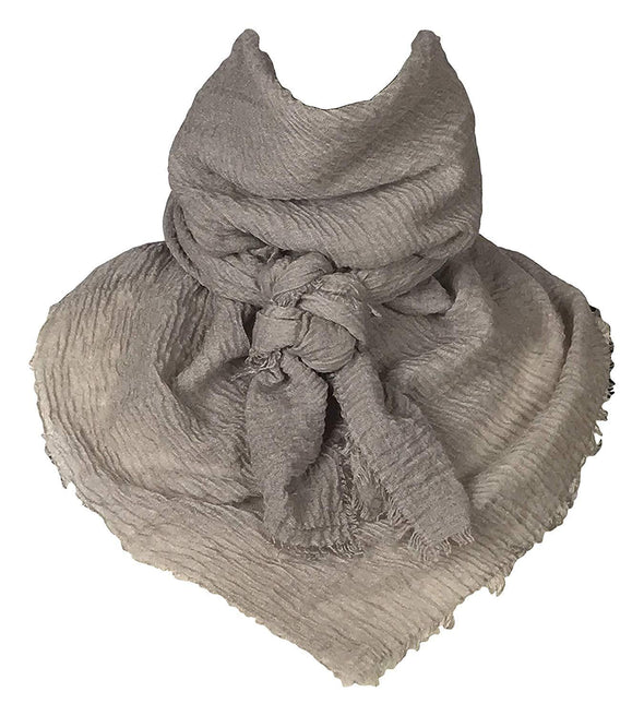 "Extra Large Cotton Wild Rag Buckaroo Western Scarf 43"" x 43"" Apparel Horse and Soul Western Wear Taupe"