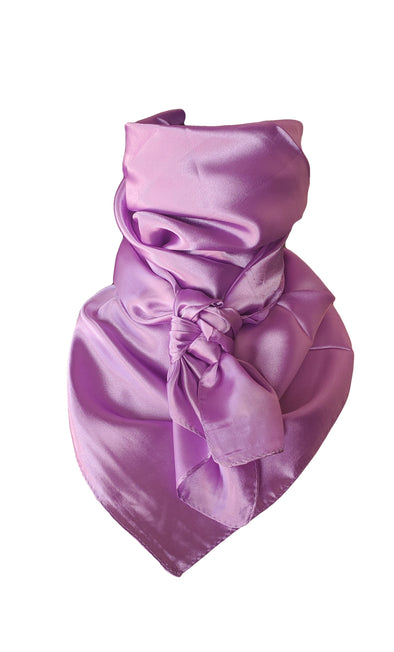 "Solid Wild Rag 35"" x 35"" Clothes and Accessories Horse and Soul Lavender Blush"