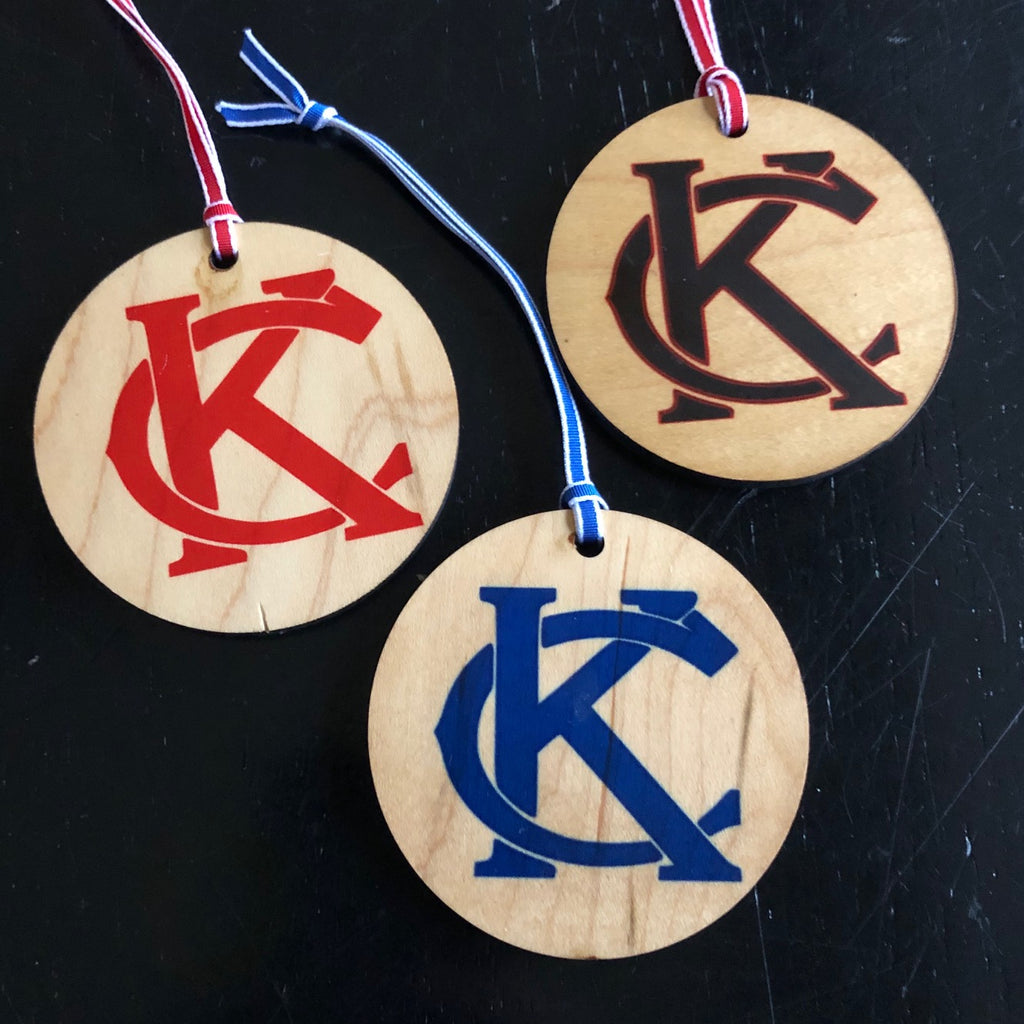 Set of 3 KC ornaments