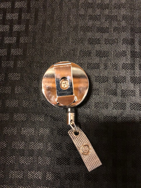 Premium Metal Badge Reel RN