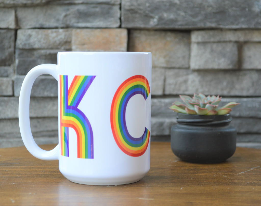 Retro Pride KC Coffee Mug