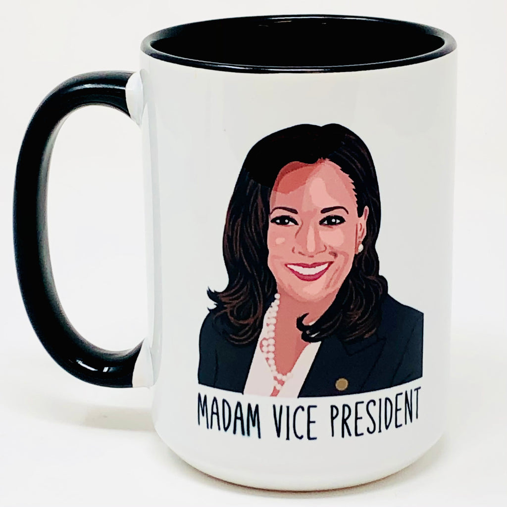 Madam Vice President coffee mug