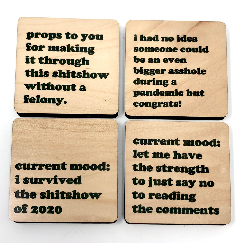 Shitshow 2020 Coaster Set