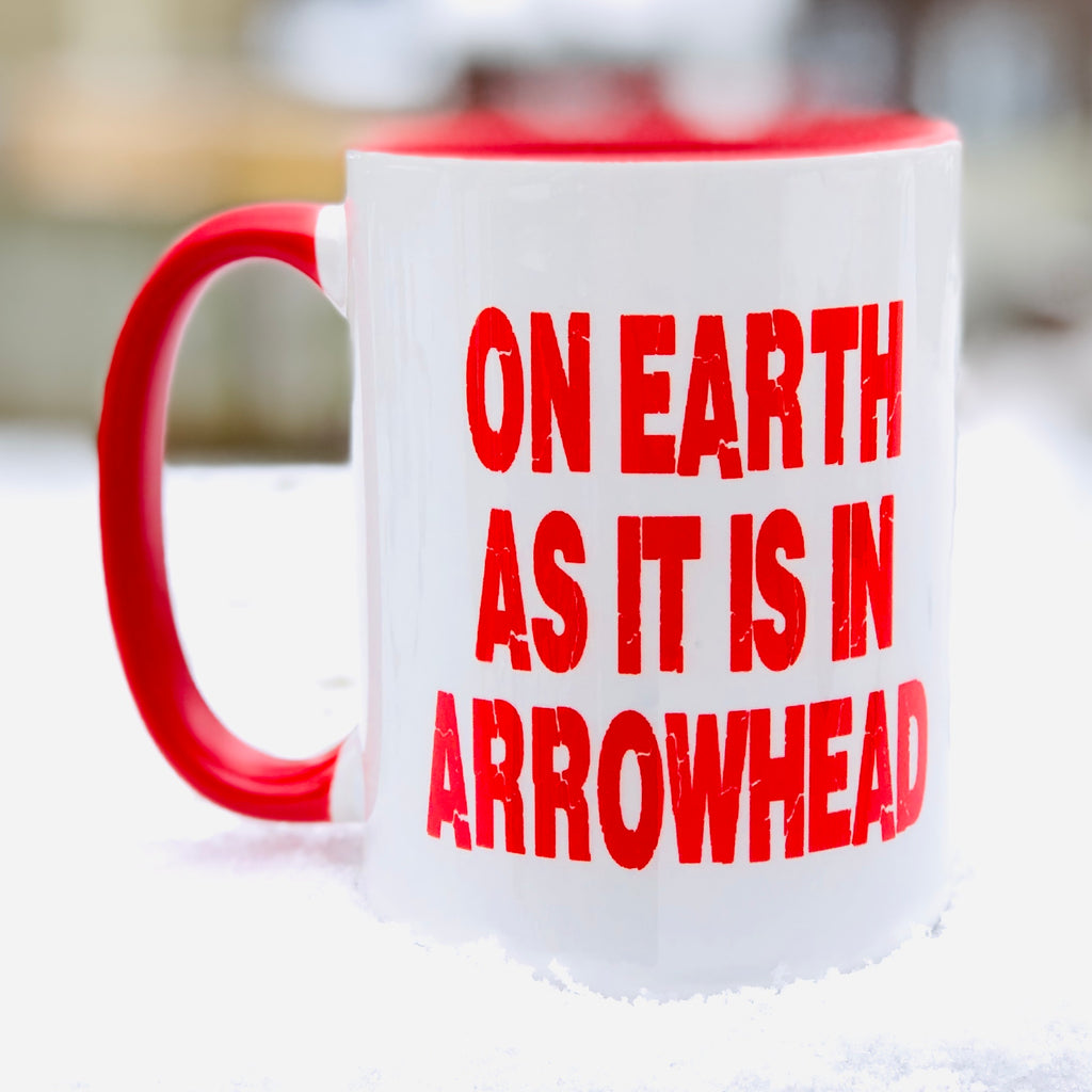 On Earth As It Is In Arrowhead Mug