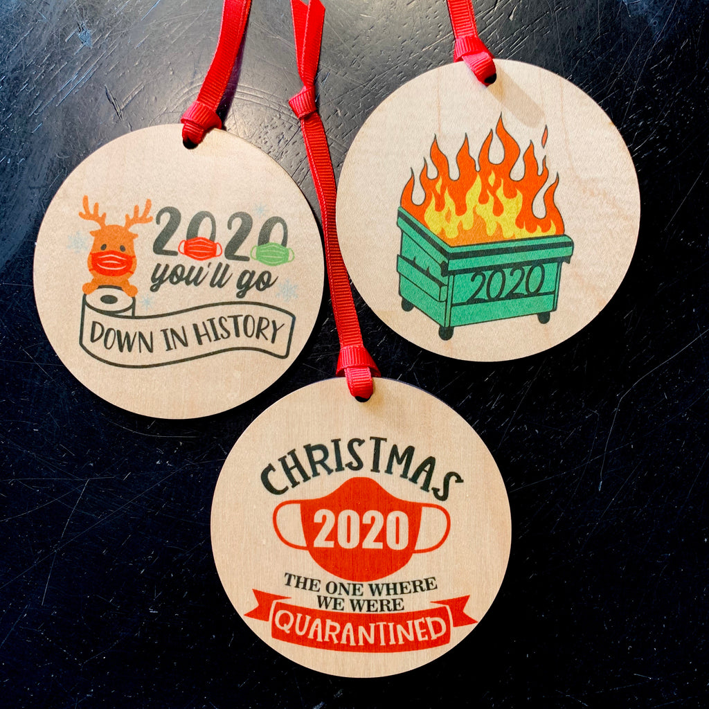 2020 Festive Ornament Set