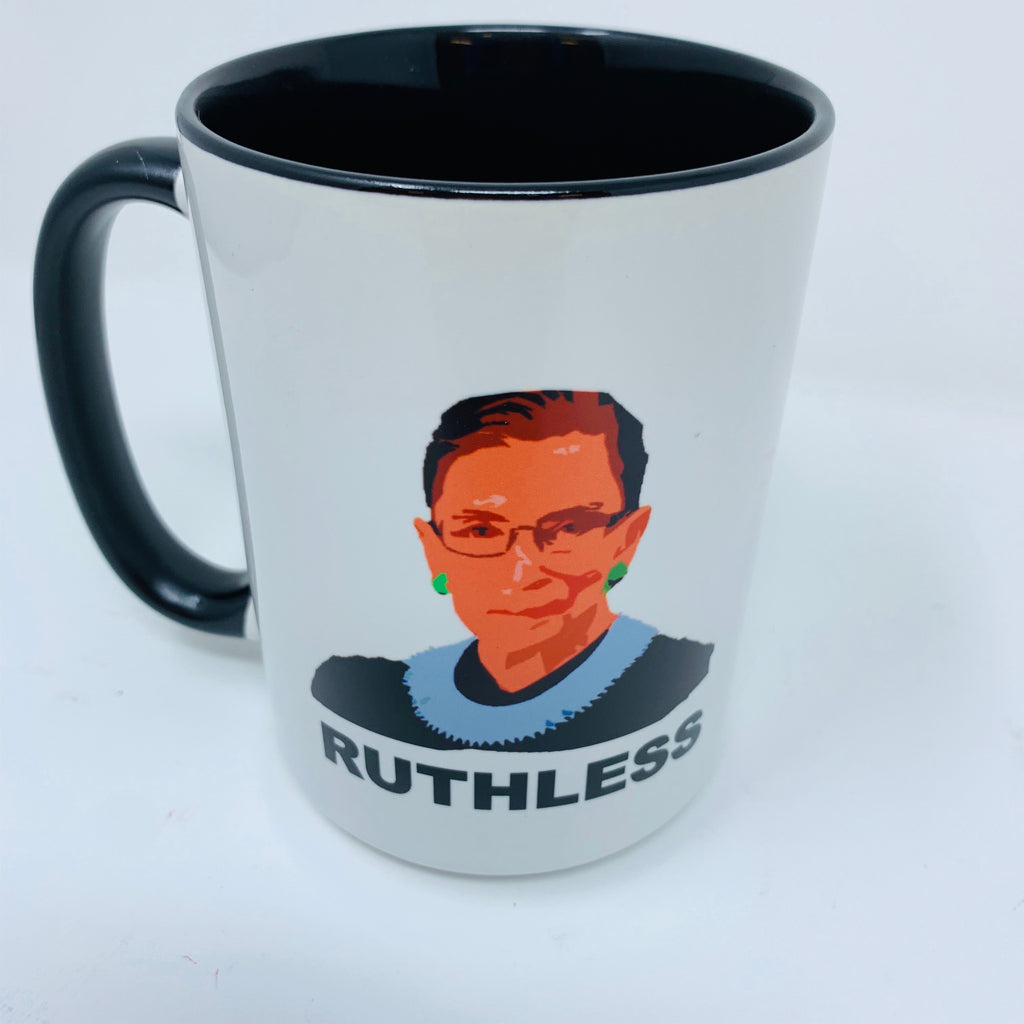 RUTHLESS coffee mug