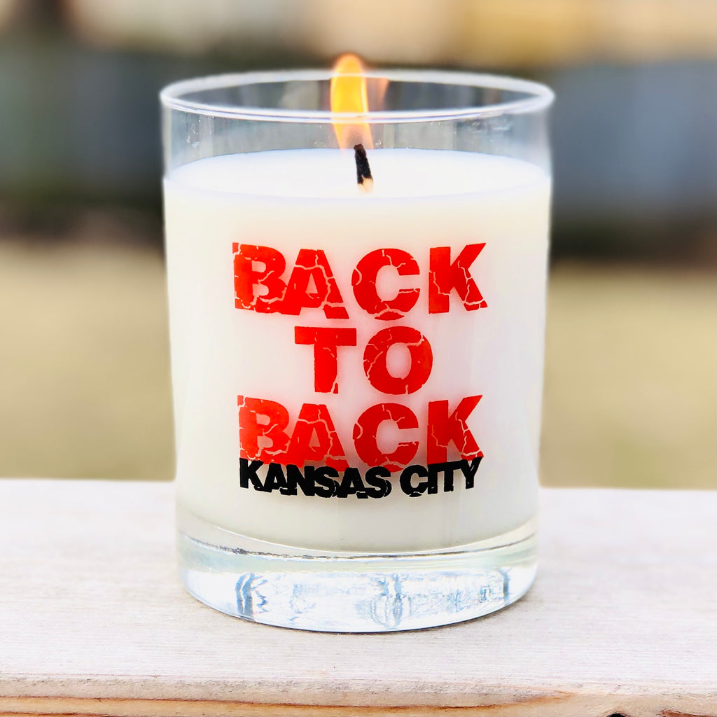BACK TO BACK Kansas City Candle