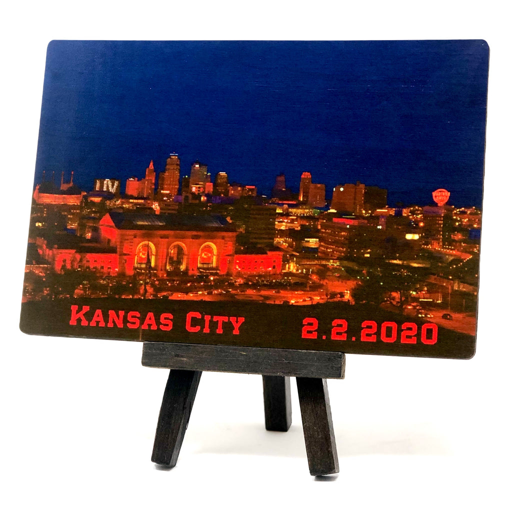 Kansas City Football Champs 2.2.20 Commemorative Magnet